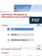 ISDP Mobile V2R Training Materials (for Subcontractors Spanish) V1.2
