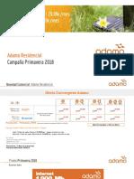 Presentación Novedades Comerciales - Spring 2018