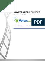 Voices Com Movie Trailer Success Kit