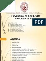 Prevencion de Accidentes Por Caida de Rocas