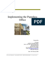 Implementing The Paperless Office