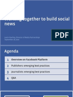 Working Together to Build Social News