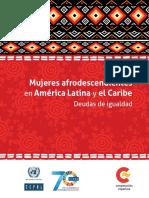 Mujeres Afrodescendientes en América Latina y El Caribe
