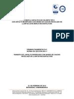 Diseño de Mezcla Idu Tipo i - Dromos Pavimentos (Vf)