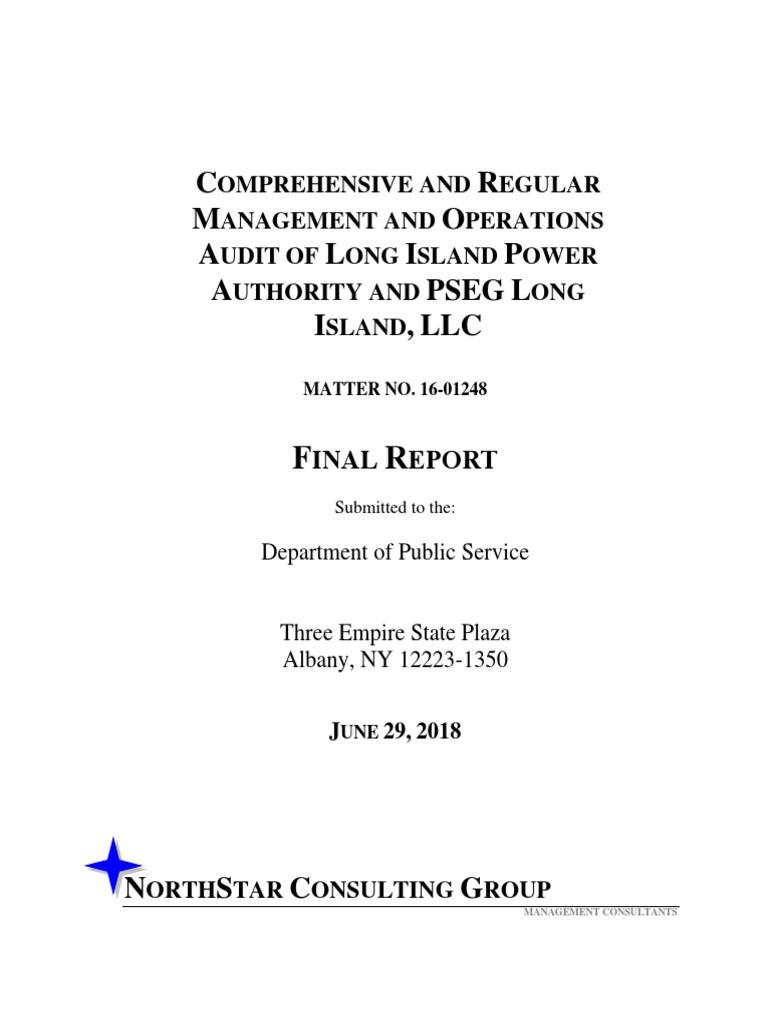 Psc Lipa Audit 2018 | Securitization | Audit