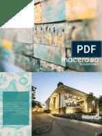 Macerado en Algarrobo Brochure