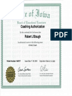 Iowa BOEE - Coaching Authorization