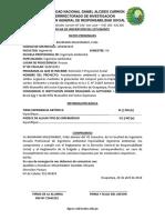 Ficha de Inscripción Del Estudiante