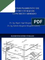 Predimensionamiento del Concreto.pdf