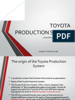 TPS and Lean Production