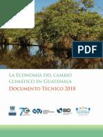 La Economía Del Cambio Climático en Guatemala