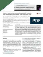 A Hybrid Model for Estimating Global Solar Radiation