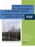 Final Alternative Energy Handout (Lake County Communities Task Force)