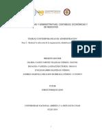 Trabajo Colaborativo Teorias Contemporaneas de Administracion