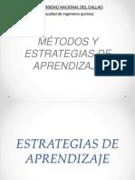 Diapositivas Metodos y Estrategias de Aprendizaje