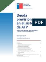 Impacto Deuda Afp Cotizaciones