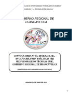 4630841 Bases de La Quinta Convocatoria de Practicas - 2018