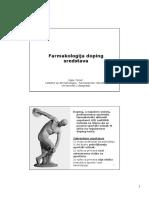 Farmakologija Doping Sredstava 2017 BHS, Crno-belo