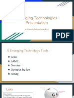 emerging technologies presentation
