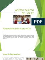 Fundamentos Basicos Del Voley