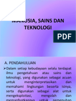 Pertemuan 13-14 Manusia, sains dan teknologi.pptx