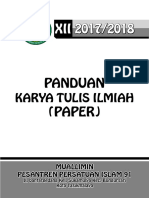 Panduan KTI2018