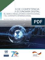 Políticas de Competencia Para Una Economía Digital