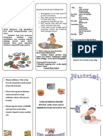 Leaflet Nutrisi Untuk Ibu MenyusuiI