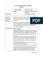 narrative reading ela i project planning form  1