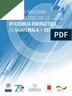Informe Nacional de Monitoreo de La Eficiencia Energética de Guatemala 2018
