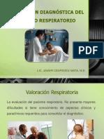 Valoracion respiratoria