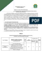 Edital Colégio Pedro II 2018