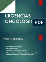 Clase de Urgencias Oncologicas