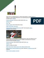 Edison Flores Es Un Futbolista Peruano