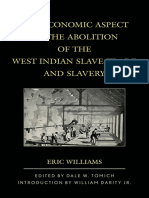Eric Williams, Dale W. Tomich, William, Jr. Darity the Economic Aspect of the Abolition of the West Indian Slave Trade and Slavery