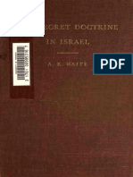 A.E. Waite - The Secret Doctrine in Israel