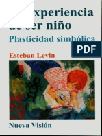 La Experiencia de Ser Niño-Esteban Levin