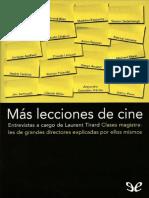 Mas lecciones de cine - Laurent Tirard.pdf