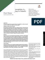 Asociacion de Hemoglobina Glicosilada y Heridas en Pie Diabetico
