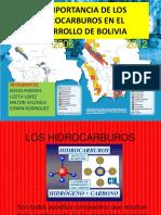La Importancia de Los Hidrocarburos en El Desarrollo
