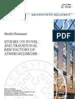 Studies on Novel and Traditional Atherosclerosi Sfactors