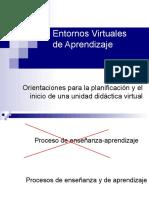 Entornos Virtuales - Planificacion e Inicio de Una Unidad