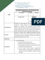 Sop Inventarisasi, Pengelolaan, Penyimpanan, Dan Penggunaan Bahan Berbahaya