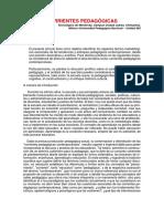 CORRIENTES PEDAGÓGICAS .docx