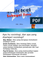 2-Sosiologi Sebagai Ilmu.pptx
