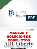 Manejo y Solucion de Conflictos