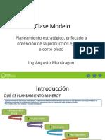 Clase Modelo Planeamiento