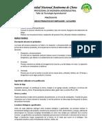 Practica N02 Elaboracion de Alfajores