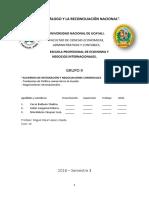 GRUPO 9 Tendencias de La Politica Comercial y Las Negociaciones Internacionales.