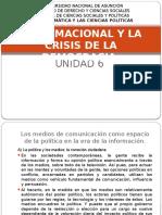 6 y 7 La Política Informacional y La Crisis de La